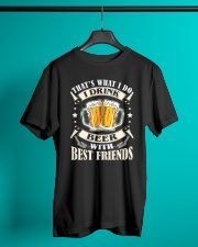 CRAFT BEER LOVER - DRINK BEER WITH BEST FRIENDS Classic T-Shirt lifestyle-mens-crewneck-front-3