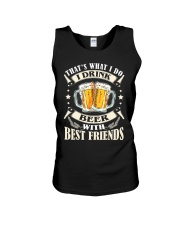 CRAFT BEER LOVER - DRINK BEER WITH BEST FRIENDS Unisex Tank thumbnail