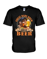 BREWERY CLOTHING - GREAT DADS BREW GREAT BEER V-Neck T-Shirt thumbnail