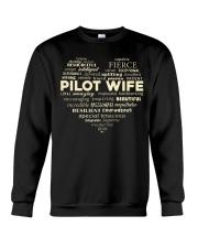 PILOT GIFT - PILOT WIFE Crewneck Sweatshirt thumbnail