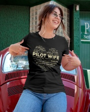 PILOT GIFT - PILOT WIFE Ladies T-Shirt apparel-ladies-t-shirt-lifestyle-01