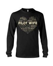 PILOT GIFT - PILOT WIFE Long Sleeve Tee tile