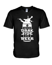 DARK SIDE V-Neck T-Shirt thumbnail