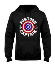 PONTOON BOAT GIFT - PONTOON SHIELD Hooded Sweatshirt thumbnail