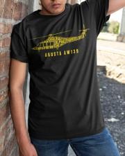 AVIATION LOVERS - AGUSTA AW139 ALPHABET Classic T-Shirt apparel-classic-tshirt-lifestyle-27