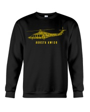 AVIATION LOVERS - AGUSTA AW139 ALPHABET Crewneck Sweatshirt thumbnail
