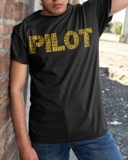 AVIATION RELATED GIFTS - PILOT PHONETIC ALPHABET Classic T-Shirt apparel-classic-tshirt-lifestyle-27