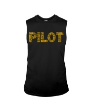 AVIATION RELATED GIFTS - PILOT PHONETIC ALPHABET Sleeveless Tee thumbnail