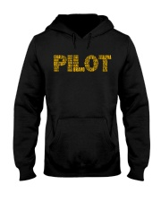 AVIATION RELATED GIFTS - PILOT PHONETIC ALPHABET Hooded Sweatshirt thumbnail
