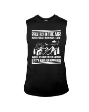 GIFT FOR AVIATION - FLY IN THE AIR Sleeveless Tee thumbnail