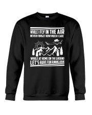 GIFT FOR AVIATION - FLY IN THE AIR Crewneck Sweatshirt thumbnail