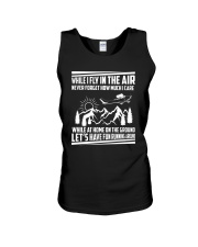 GIFT FOR AVIATION - FLY IN THE AIR Unisex Tank thumbnail