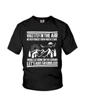 GIFT FOR AVIATION - FLY IN THE AIR Youth T-Shirt thumbnail