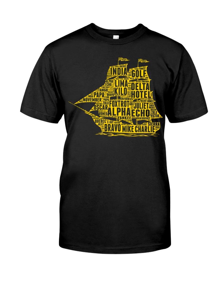 Boat's Alphabet Classic T-Shirt