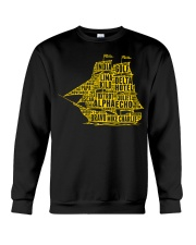 Boat's Alphabet Crewneck Sweatshirt thumbnail
