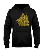 Boat's Alphabet Hooded Sweatshirt thumbnail