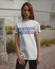 PONTOON BOAT GIFT - PONTOON PRINCESS 2020 Classic T-Shirt apparel-classic-tshirt-lifestyle-18