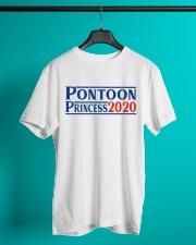 PONTOON BOAT GIFT - PONTOON PRINCESS 2020 Classic T-Shirt lifestyle-mens-crewneck-front-3