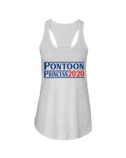 PONTOON BOAT GIFT - PONTOON PRINCESS 2020 Ladies Flowy Tank thumbnail