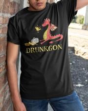 B - DRUNKGON Classic T-Shirt apparel-classic-tshirt-lifestyle-27