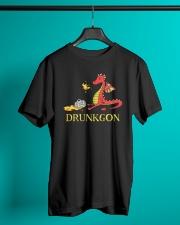 B - DRUNKGON Classic T-Shirt lifestyle-mens-crewneck-front-3