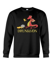 B - DRUNKGON Crewneck Sweatshirt thumbnail