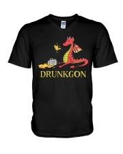 B - DRUNKGON V-Neck T-Shirt thumbnail