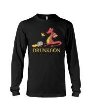 B - DRUNKGON Long Sleeve Tee thumbnail
