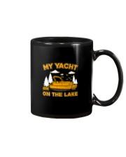 PONTOON BOAT GIFT - MY YACHT ON THE LAKE Mug thumbnail