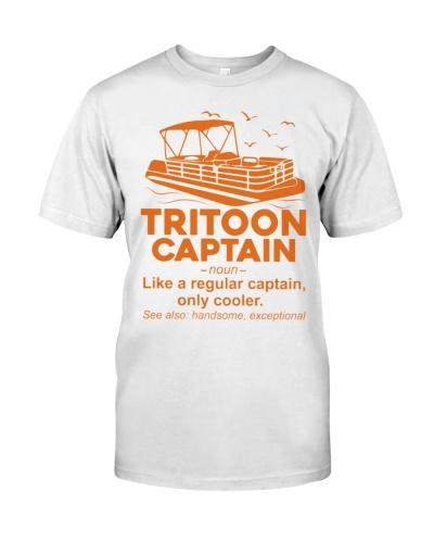 TRITOON BOAT GIFT - TRITOON CAPTAIN WHITE