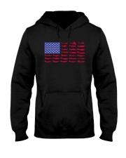 PILOT GIFT - AIRCRAFT AMERICAN FLAG Hooded Sweatshirt thumbnail