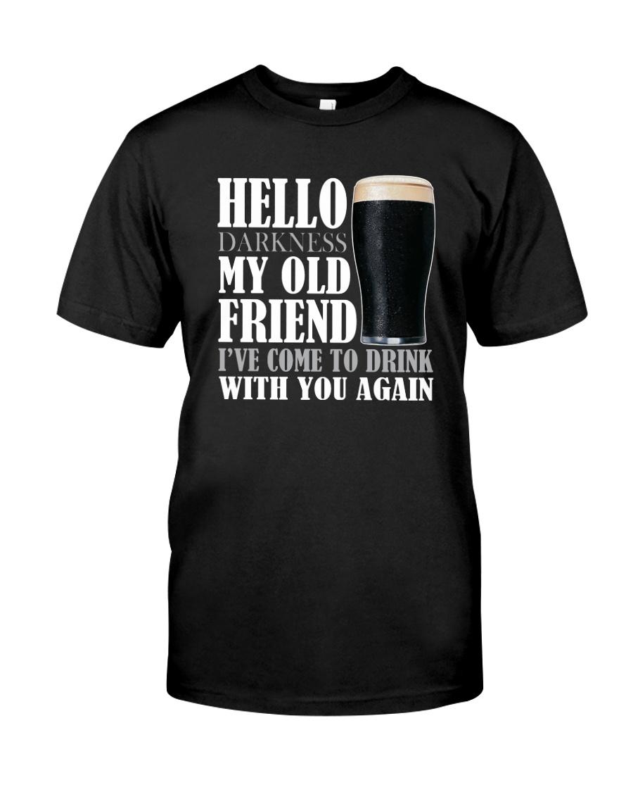 RETRO BEER - HELLO DARKNESS Classic T-Shirt