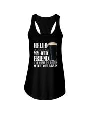 RETRO BEER - HELLO DARKNESS Ladies Flowy Tank thumbnail