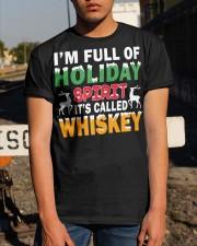 WHISKEY - HOLIDAY SPIRIT Classic T-Shirt apparel-classic-tshirt-lifestyle-29