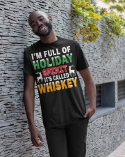 WHISKEY - HOLIDAY SPIRIT Classic T-Shirt apparel-classic-tshirt-lifestyle-front-33