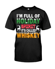 WHISKEY - HOLIDAY SPIRIT Classic T-Shirt front