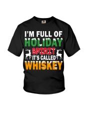 WHISKEY - HOLIDAY SPIRIT Youth T-Shirt thumbnail