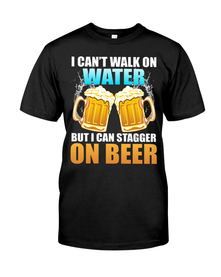 CRAFT BEER LOVER - STAGGER ON BEER Classic T-Shirt