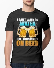 CRAFT BEER LOVER - STAGGER ON BEER Classic T-Shirt lifestyle-mens-crewneck-front-13