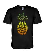BREWERY MERCHANDISE - PINEAPPLE BEER V-Neck T-Shirt thumbnail