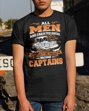 PONTOON BOAT GIFT - ALL MEN Classic T-Shirt apparel-classic-tshirt-lifestyle-29