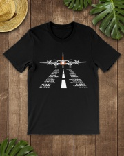 AVIATION RELATED GIFTS - PSA ELECTRA ALPHABET Classic T-Shirt lifestyle-mens-crewneck-front-18
