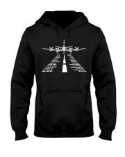 AVIATION RELATED GIFTS - PSA ELECTRA ALPHABET Hooded Sweatshirt thumbnail