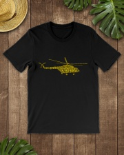 PILOT GIFTS - HELICOPTER ALPHABET Classic T-Shirt lifestyle-mens-crewneck-front-18
