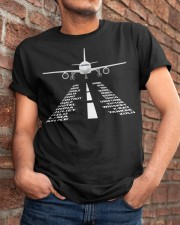 PILOT GIFTS - THE AIRPLANE ALPHABET Classic T-Shirt apparel-classic-tshirt-lifestyle-26