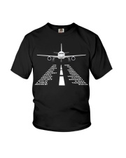 PILOT GIFTS - THE AIRPLANE ALPHABET Youth T-Shirt thumbnail