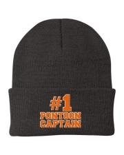 PONTOON BOAT GIFT - N1 PONTOON CAPTAIN  Knit Beanie thumbnail