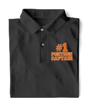 PONTOON BOAT GIFT - N1 PONTOON CAPTAIN  Classic Polo front