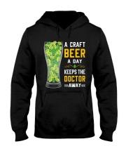 CRAFT BEER LOVER- KEEPS DOTOR AWAY Hooded Sweatshirt thumbnail