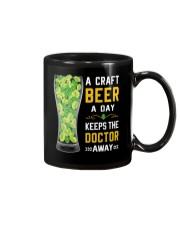 CRAFT BEER LOVER- KEEPS DOTOR AWAY Mug thumbnail